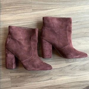 Joes Jeans suede  Fia booties